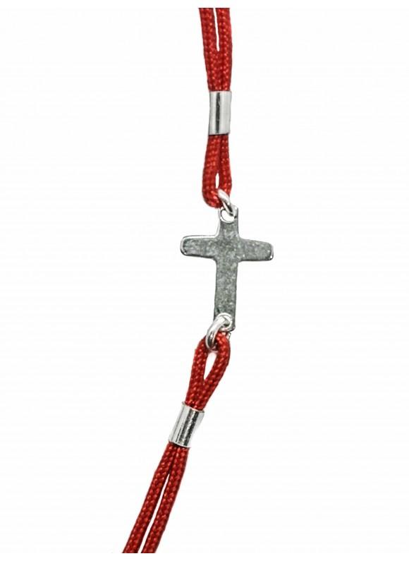 Гривна с червен конец - Кръстче