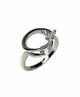Сребърен пръстен - Пеперудка SR010