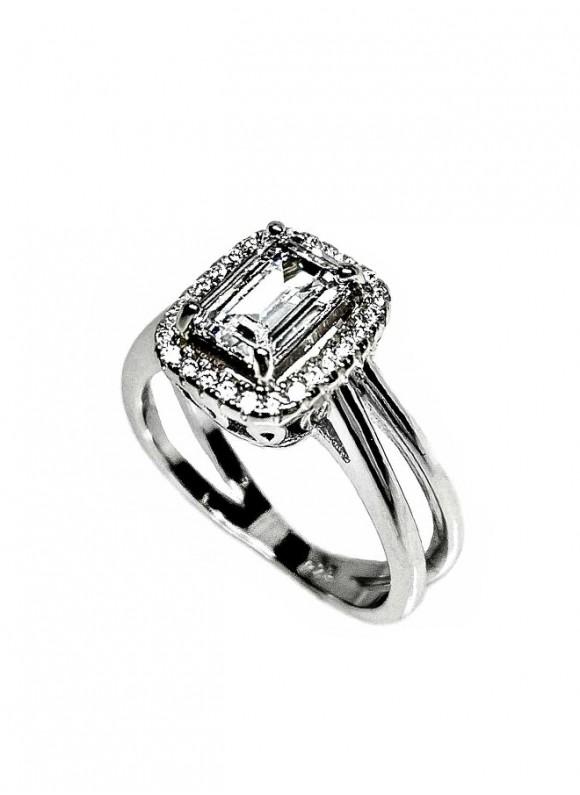 Сребърен пръстен - SR005
