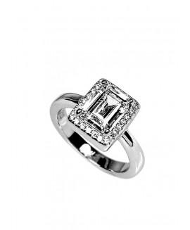Сребърен пръстен - SR006