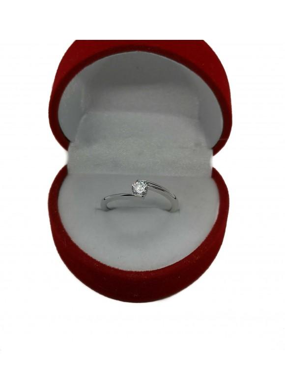 Златен годежен пръстен ER006