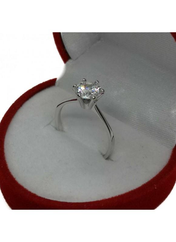 Златен годежен пръстен ER004